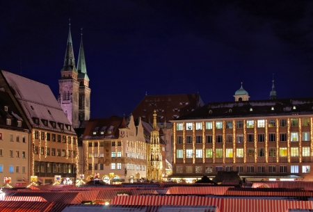 Nuremberg christmas market  photo