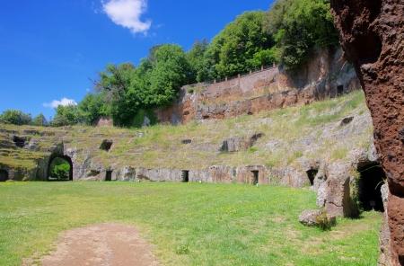 amphitheatre: Sutri amphitheatre