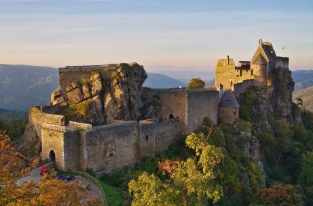 donjon: Aggstein castle