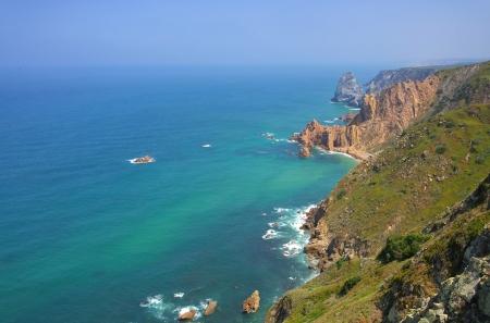 roca: Cabo da Roca coast  Stock Photo