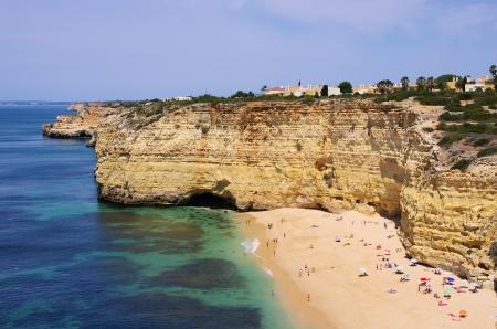 barlavento: Algarve beach da Senhora da Rocha  Stock Photo