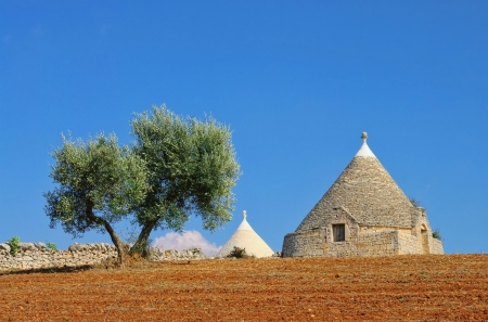 Trulli  Stock Photo