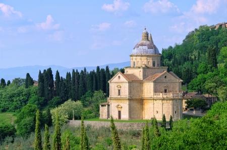 montepulciano: Montepulciano church