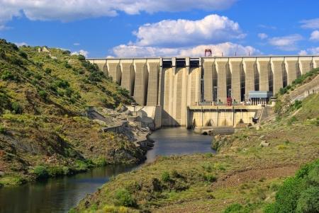 hydropower plants: hydropower plant