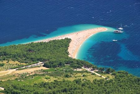 Gouden Kaap in Kroatië Stockfoto