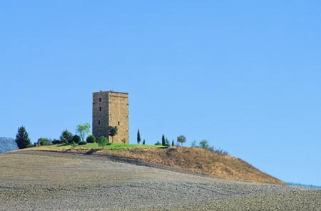 Torre Taruga in Siena, Italy