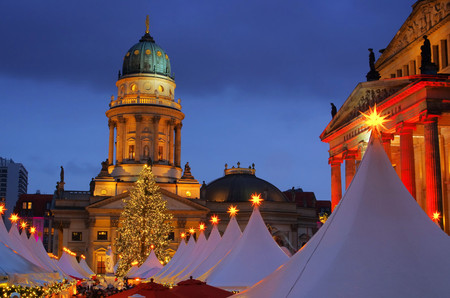 Berlin christmas market Gendarmenmarkt