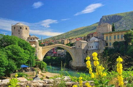 mostar: Mostar  Stock Photo