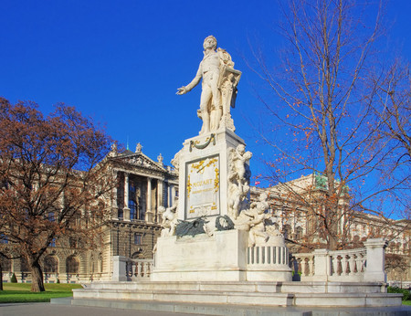 mozart: Vienna Mozart monument