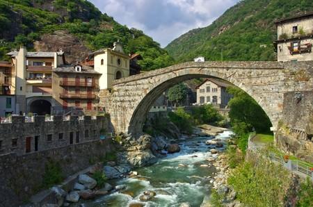 saint martin: Pont Saint Martin