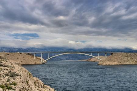 Pag bridge photo