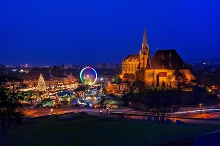 erfurt: Erfurt christmas market Editorial