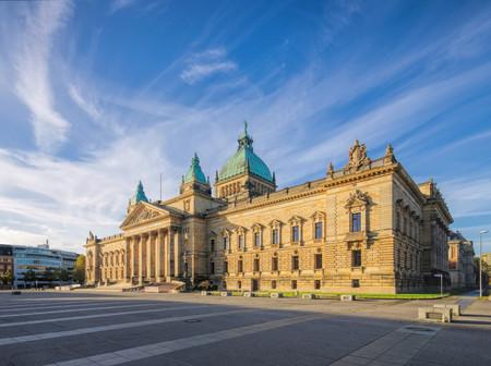 Leipzig Federal Administrative Court 写真素材