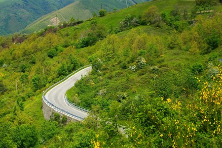 apennines: Ligurian Apennines pass