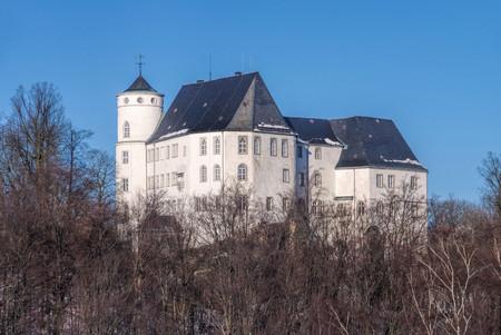 erz: Baerenstein castle in Erzgebirge, Saxony Editorial