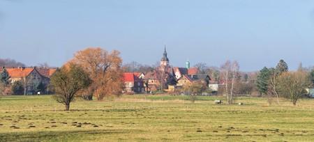 lower lusatia: Klettwitz Stock Photo