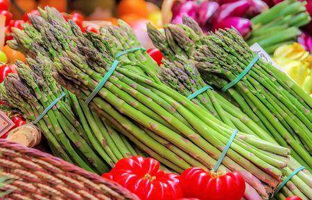 asparagus at the market