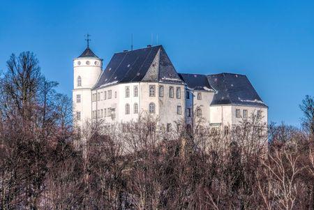 saxony: Baerenstein castle in Erzgebirge, Saxony Editorial
