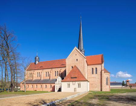 the abbey: Doberlug abbey Stock Photo