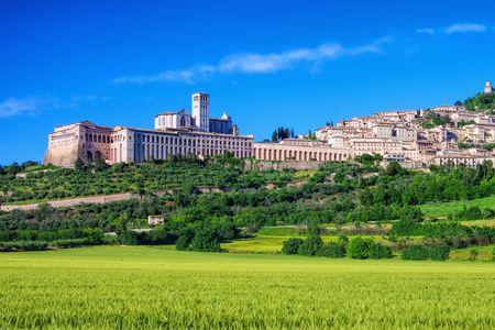 assisi: Assisi Stock Photo