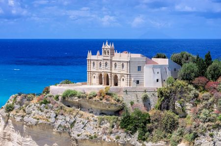 Tropea Church Stock Photo