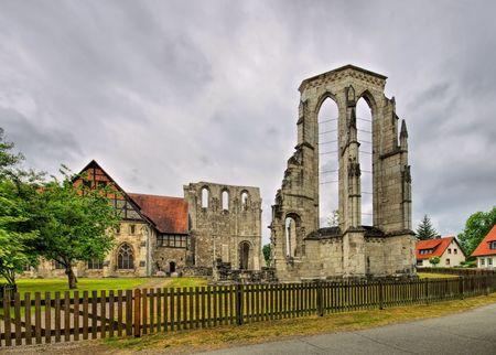 the abbey: Walkenried Abbey