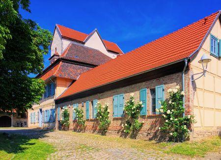 the abbey: Thale Wendhusen Abbey