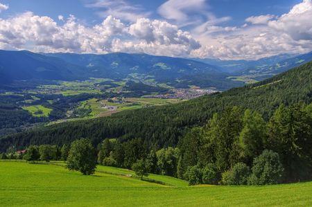 Bruneck Stock Photo