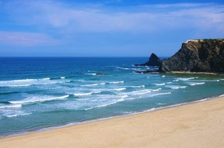 barlavento: Atlantic beach Odeceixe