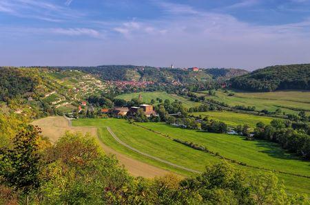 winegrowing: Freyburg in Saale-Unstrut wine-growing area