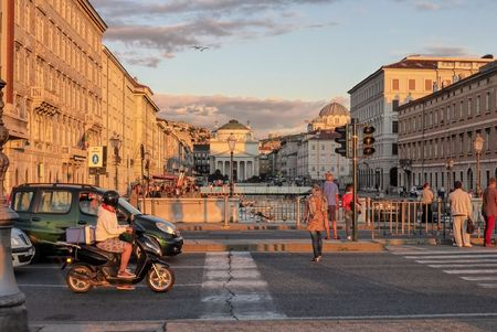 grand canal: Trieste, the Grand Canal