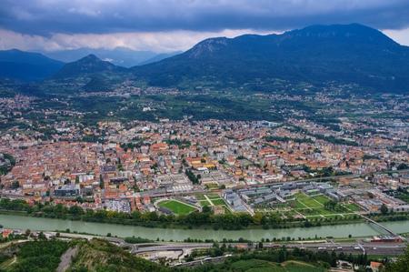the italian town Trento