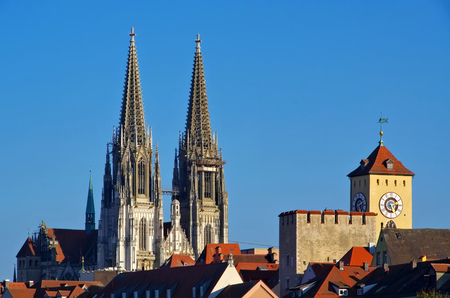 regensburg: Regensburg, the gothic cathedral