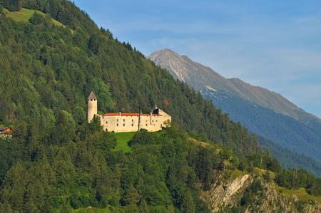 alto adige: Sterzing in Alto Adige, the castle Sprechenstein