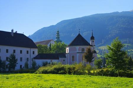 alto adige: Sterzing abbey in Alto Adige, Italy