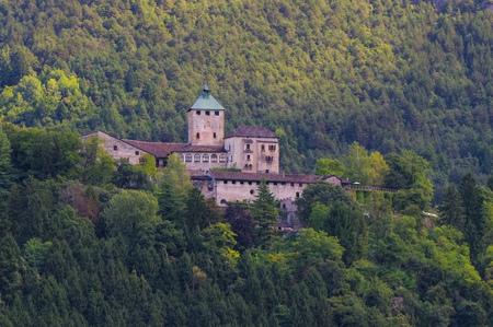 castel: near Borgo Valsugana in Trentino, the Castel Ivano Editorial