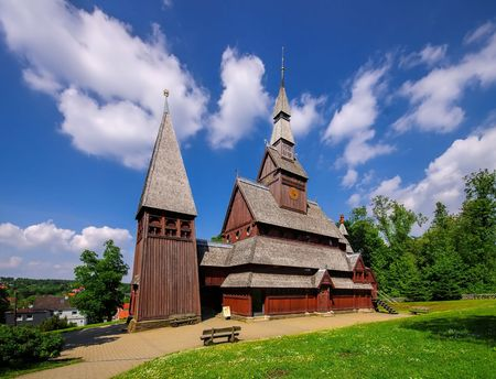 stave: Goslar stave church Stock Photo