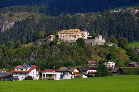 alto adige: St. Lorenzen castle Sonnenburg in Alto Adige Editorial
