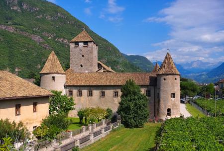alto adige: Bolzano in Alto Adige, the Maretsch Castle
