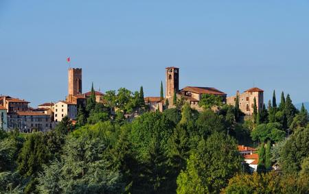 grappa: Bassano del Grappa in northern Italy