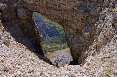 sella: Sella group in Dolomites Stock Photo