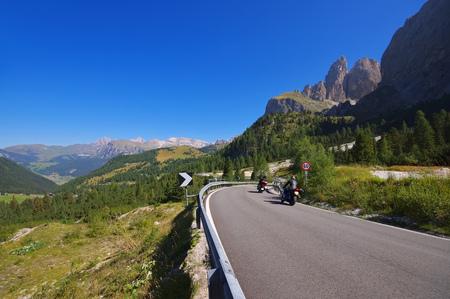 sella: Sella pass in Dolomites, italian Alps