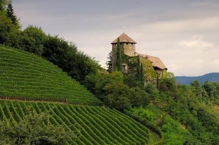 alto adige: castle Warth near Bolzano, Alto Adige
