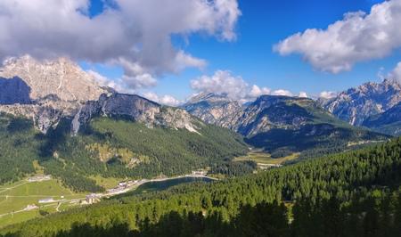 lake misurina: Lake Misurina and  Monte Cristallo in italian Dolomites