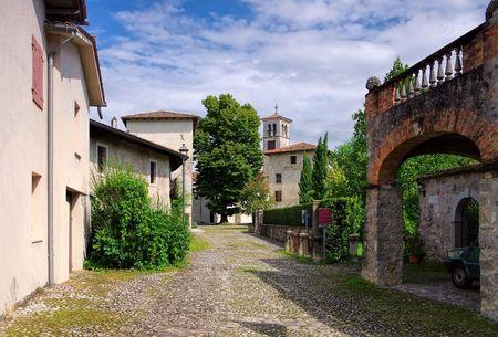 Strassoldo in Italia, Castello di Sotto Archivio Fotografico
