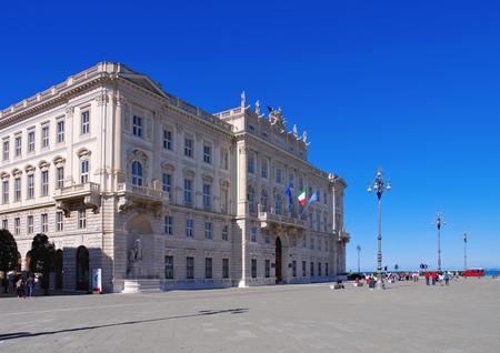 grande: Trieste Palazzo del Lloyd Triestino, Piazza Grande Editorial