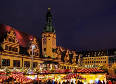 striezelmarkt: Leipzig christmas market