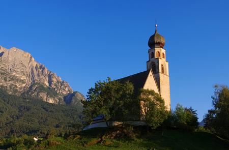 constantin: the church St. Konstantin near mountain Schlern