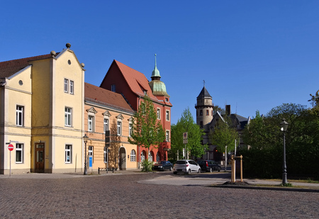reformation: Wittenberg, streets in the old town