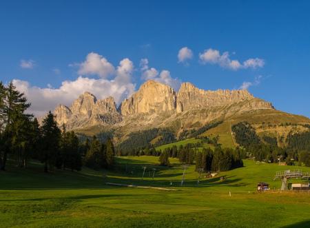 rosengarten: Rosengarten group in Dolomites, Alps